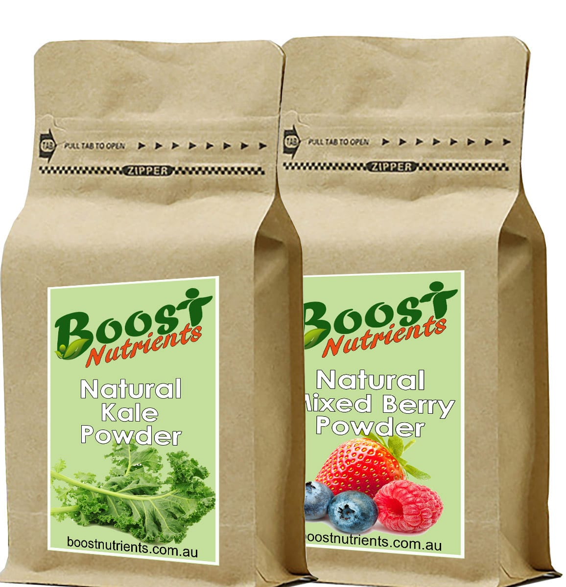 Boost Nutrients Fruit and vegetable powders - Acai Bowl Toppings and Smoothie ingredients