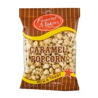 Caramel Popcorn 150g bags - Famous Makers - Box of 12