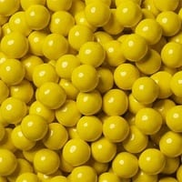 Chocolate Pearls - 1kg Yellow - Lolliland