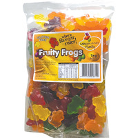 Fruity Frogs - Mixed colours - Gluten Free - 1kg