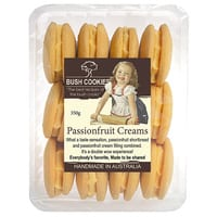 Passionfruit Cream Biscuits from Bush Cookies 350g