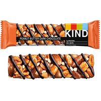 Kind Healthy Nut Bars - Peanut Butter Dark Chocolate 12x 40g Pack (Best Before 22/11/20)