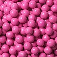 Choc Balls Pink - 1kg Bulk Lollies Bag for Lolly Buffet - The Lolly Shop