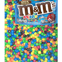 M&M's Minis Choc Buttons 1kg, 5kg 10kg Bulk Lollies