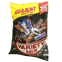 Mars Giant Value Bag 307g 240 Pieces Variety Mix - Carton of 12 x 307g
