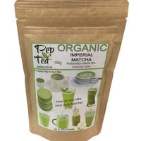 Organic Matcha  Japanese Imperial Tea Powder - 100g